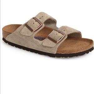 Suede Arizona Birkenstock Sandals